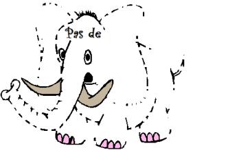 pas d'éléphant