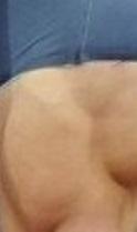genoux détail